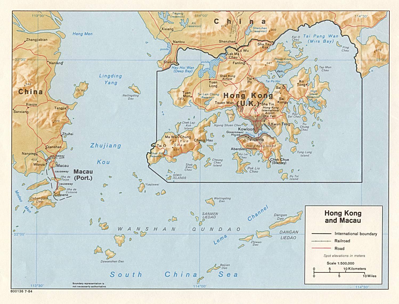 Hong kong macao mapa mapa de hong kong y macao china mapa de hong kong y macao gumiabroncs Image collections